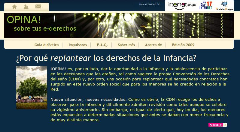 Ciberderechos-Infancia.net