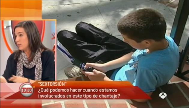 Ofelita Tejerina (PantallasAmigas) debate sobre sexting en Antena3