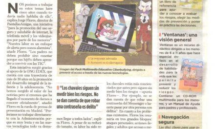 Padres e hijos concienciad@s ante los riesgos de Internet [La Gaceta de los Negocios]