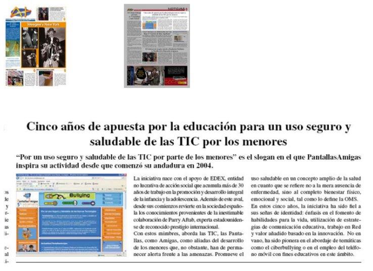 Cinco años de apuesta por la educación para un uso seguro y saludable de las TIC por los menores [Aula Y +]
