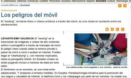 Los peligros del móvil [Levante-EMV.com]