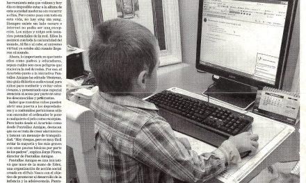Internet y niños: combatir las sombras en la red [Deia]