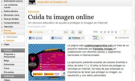Cuida tu imagen online [ParaSaber.com]