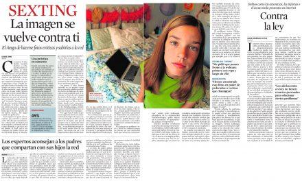 Sexting: la imagen se vuelve contra ti [La Vanguardia]