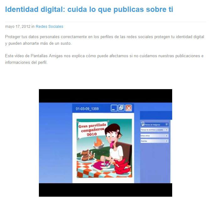Identidad digital: cuida lo que publicas sobre ti [nortonfanclub.com]