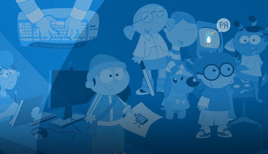 Los personajes de PantallasAmigas narran historias animadas sobre ciberseguridad y cibervonvivencia