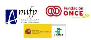 AMIFP-IMSERSO-FUNDACIÓN-ONCE-LOGOS