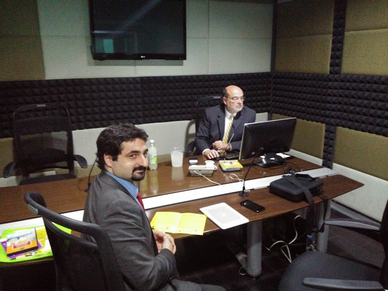 Entrevista en la emisora Radar 1075 con Andrés Estévez