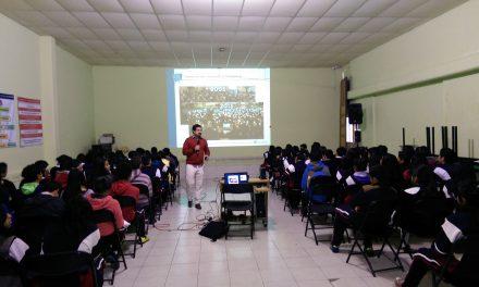 Talleres dirigidos a alumnado de secundaria del Estado de México para la prevención del ciberbullying