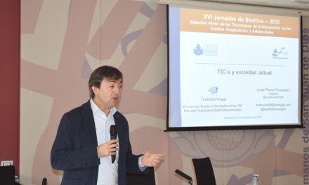 Jornadas de bioética abordan el uso de las TIC y discapacidad en centros asistenciales