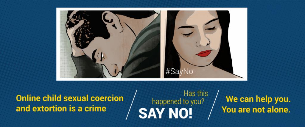 europol_sayno_sextortion_sextorsion_chantaje_sexual_webcam_campaña