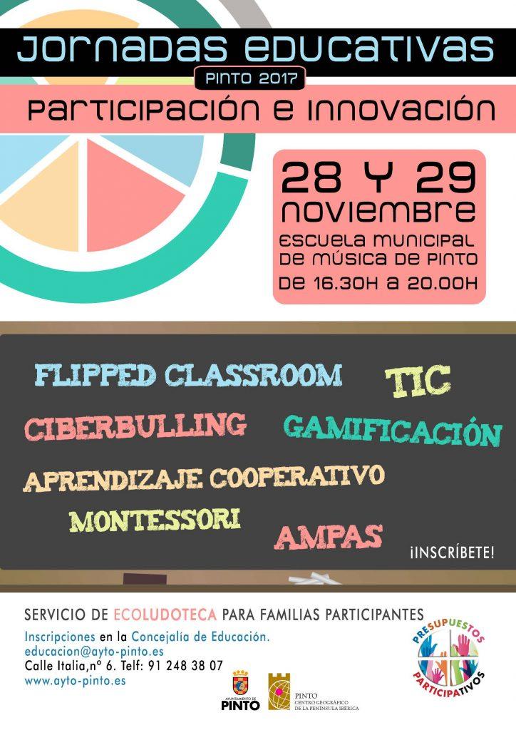 Jornadas Educativas de Pinto sobre Participación e Innovación 2017
