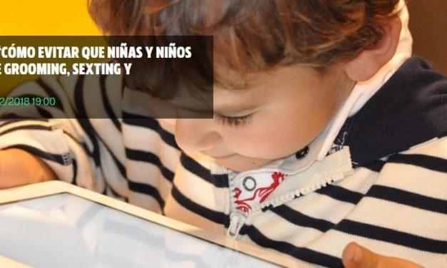 Jornada en Valencia sobre ciberseguridad infantil: Grooming, sexting y sextorsión