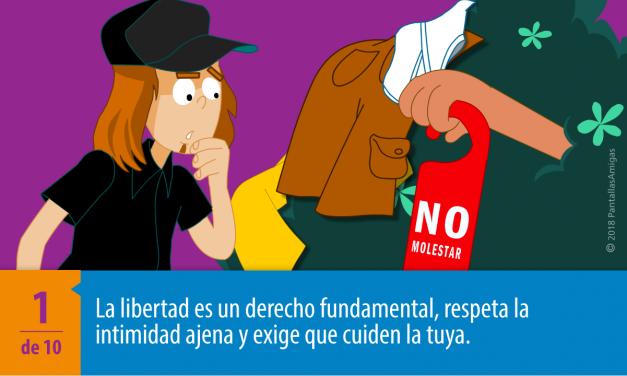Campaña contra la distribución no consentida de imágenes íntimas: delito y forma de violencia contra las mujeres