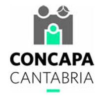 Logo - II Jornada Regional de AMPAS.  CONCAPA-Cantabria