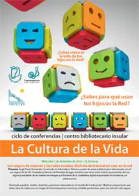 """Portada - La cultura de la Vida """"Uso seguro de Internet y las Redes Sociales"""""""