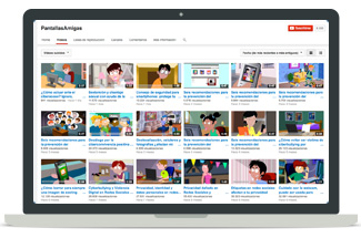 YouTube PantallasAmigas