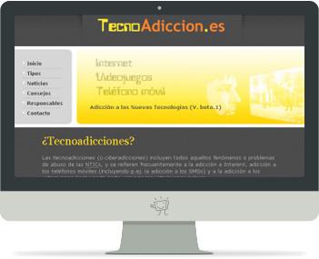 Captura de Tecnoadiccion.es
