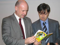 Íñigo Lamarka y Jorge Flores