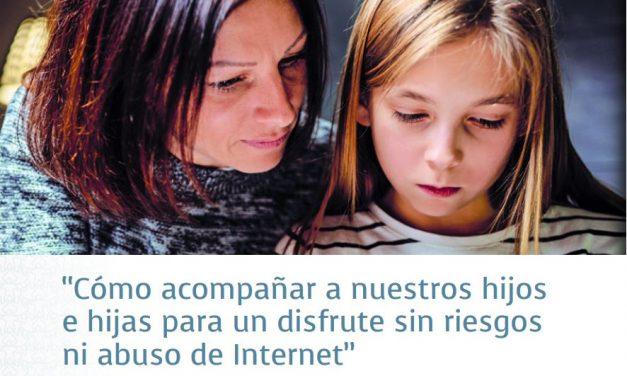 ¿Cómo acompañar a hijas e hijos en Internet? Charla de Hirukide sobre parentalidad positiva en Vitoria