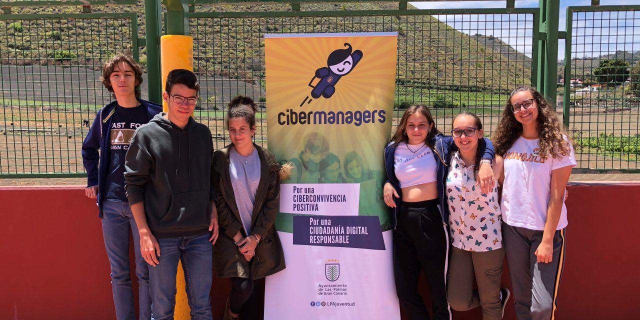 Cibermaganers en el CE IES Juan Ramón Jiménez, Las Palmas de Gran Canaria