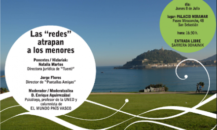PantallasAmigas y Tuenti hablarán sobre los riesgos y beneficios de las redes sociales este jueves en Donostia