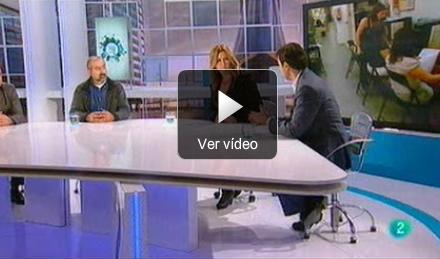 Jorge Flores debate en TVE sobre los riesgos de Internet