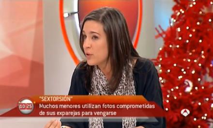 El 'sexting' en Antena3 de la mano de PantallasAmigas