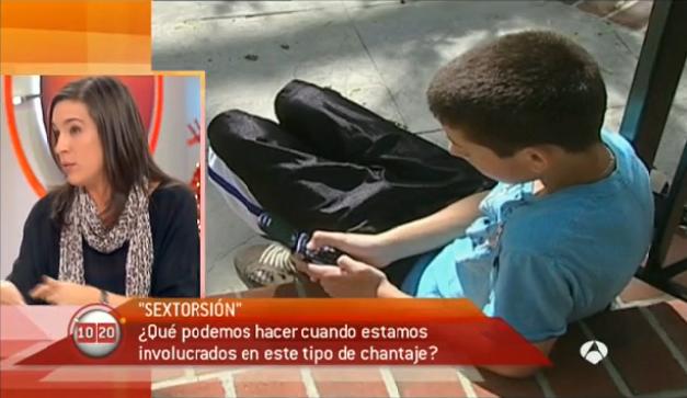 Debatimos en Antena3 sobre el sexting