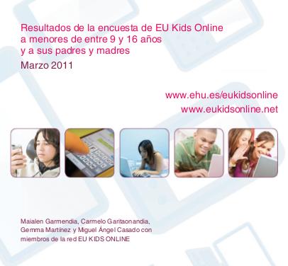 Publicados los datos sobre los menores españoles en Internet de la encuesta «EU Kids online»