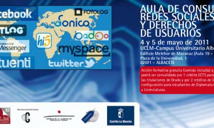 Redes sociales, sexting, videojuegos y ciberconsumo. Jornadas en Albacete 4 y 5 de mayo