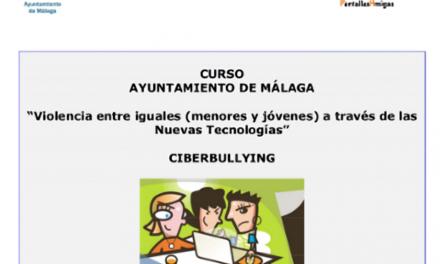 El Ayuntamiento de Málaga organiza unas jornadas formativas sobre ciberviolencia entre menores