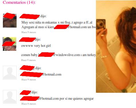 Un riesgo adicional para la privacidad a partir de las fotos de sexting