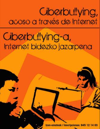 Este martes y miércoles en Gasteiz, PantallasAmigas participará en las jornadas sobre ciberbullying