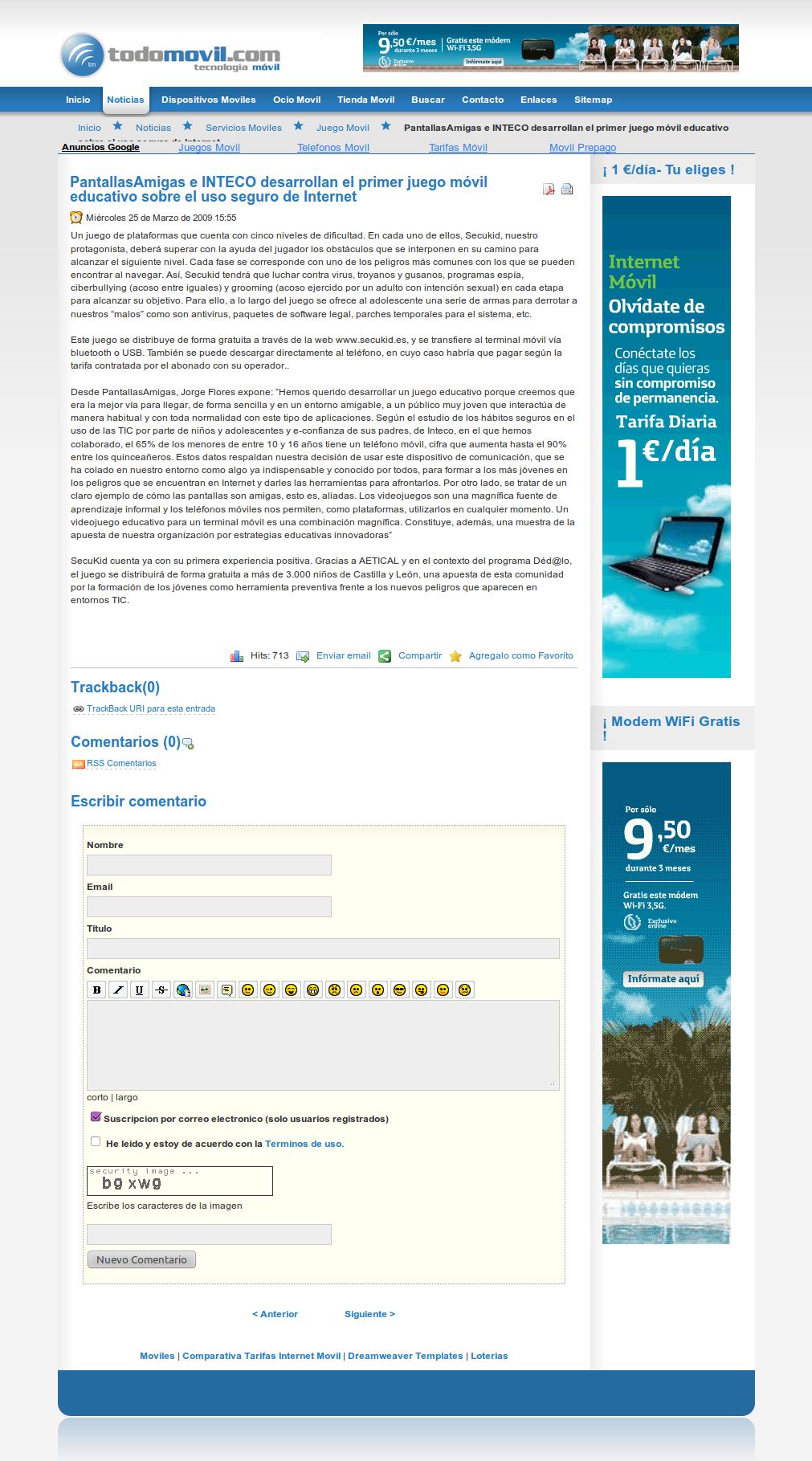 PantallasAmigas e INTECO desarrollan el primer juego móvil educativo sobre el uso seguro de Internet