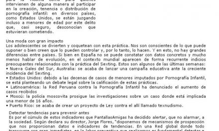 Alerta ante el aumento de casos de sexting entre adolescentes [Andalucia24horas.com]
