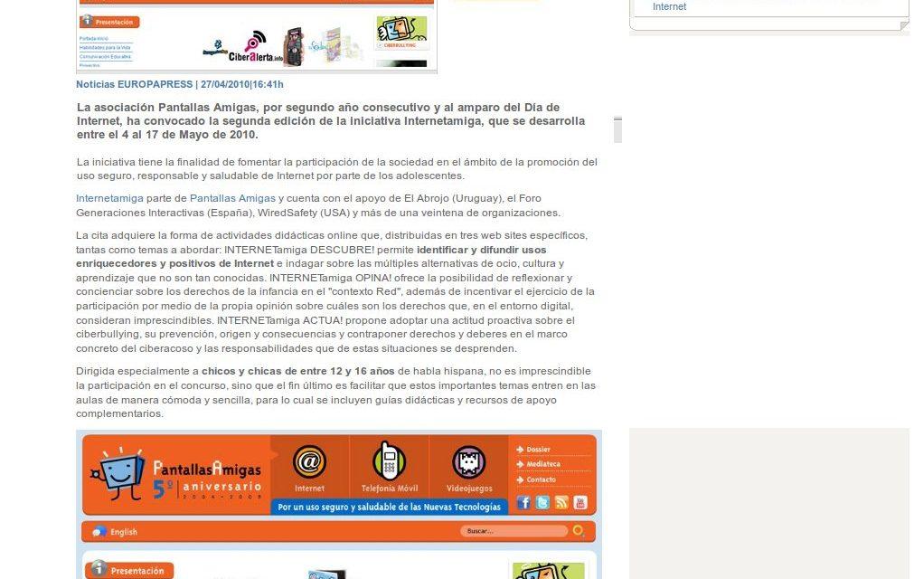 Internetamiga busca una ciudadanía digital activa y responsable [HoyTecnologia.com]