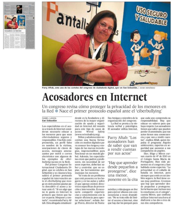 Acosadores en Internet