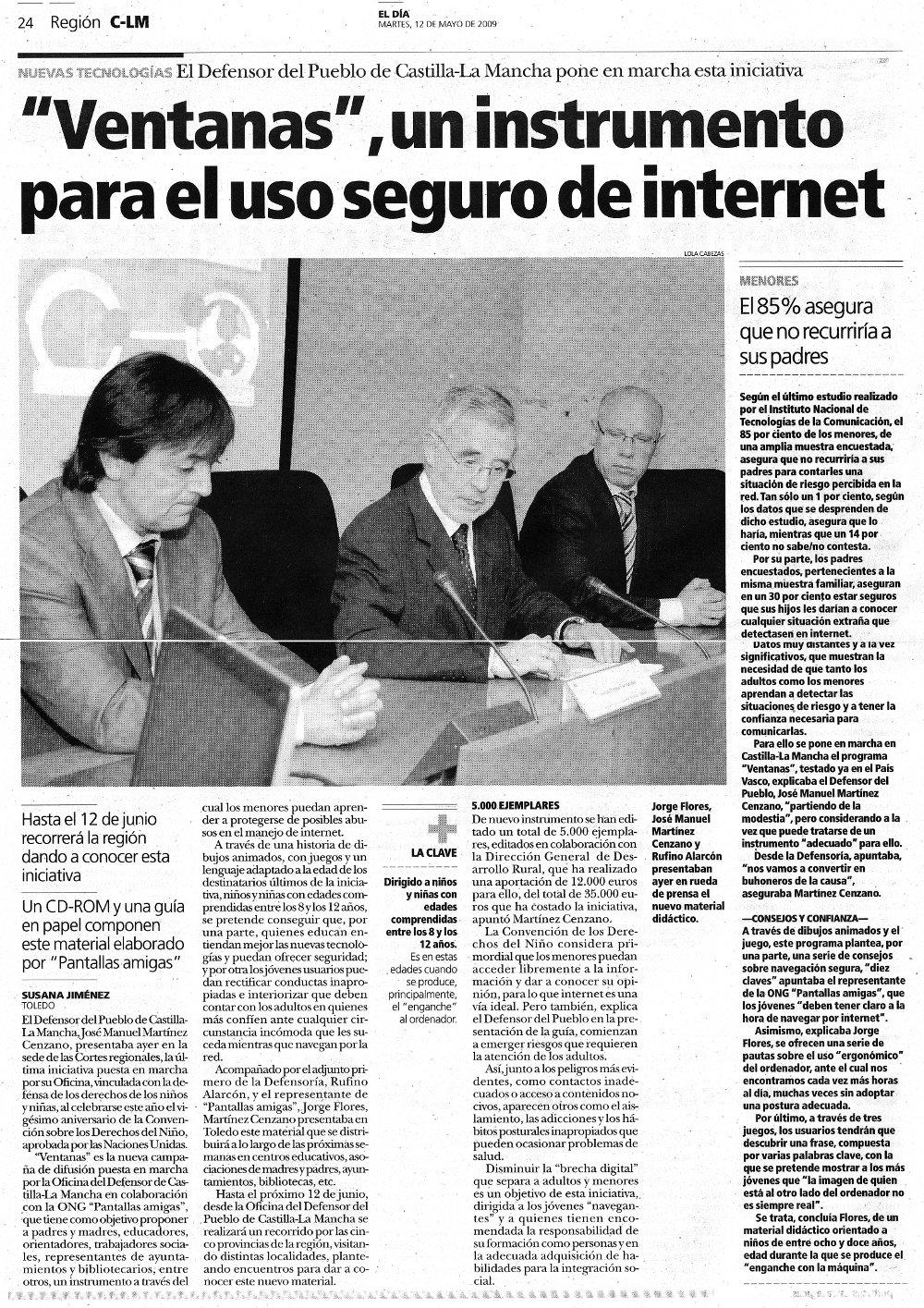 Ventanas, un instrumento para el uso seguro de Internet
