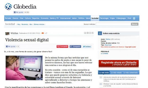 Violencia sexual digital [Globedia.com]