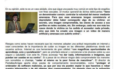 «Los padres deben acercarse a las tecnologías para comprender mejor la vida digital de sus hijos» [Cantabria24horas.com]