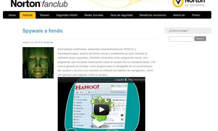 Spyware a fondo [Norton Fanclub]