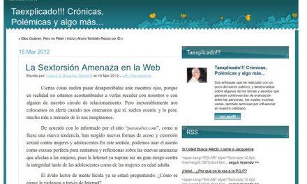 La Sextorsión Amenaza en la Web [Taexplicado!!!]