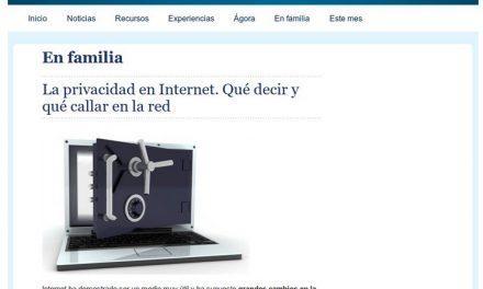 La privacidad en Internet. Qué decir y qué callar en la red [AulaPlaneta.com]