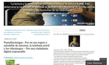 PantallasAmigas: Por un uso seguro y saludable de Internet, la telefonía móvil y los videojuegos – Por una ciudadanía digital responsable [Bibliotecas Escolares Argentinas]