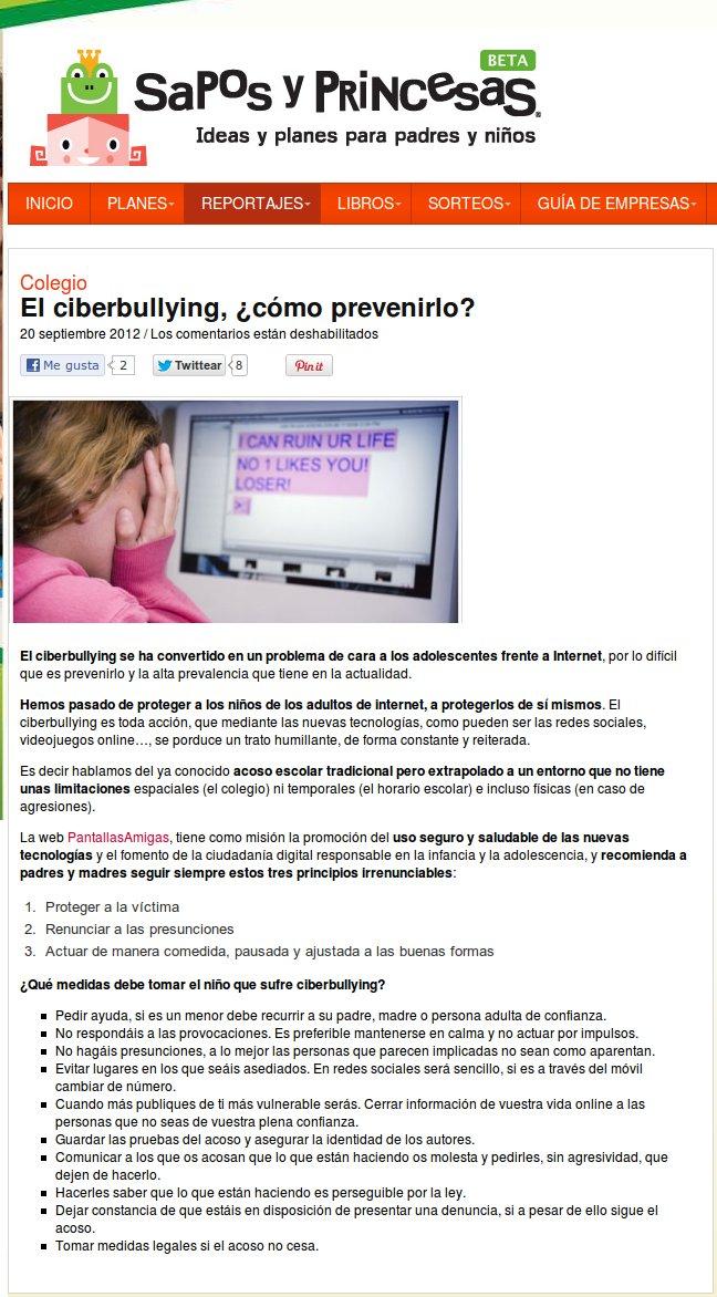 El ciberbullying, ¿cómo prevenirlo?
