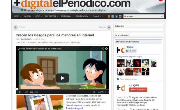 Crecen los riesgos para los menores en Internet [Elperiodico.com]