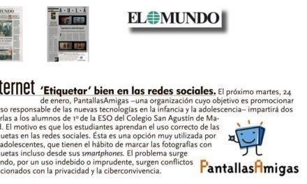'Etiquetar' bien en las redes sociales [El Mundo]