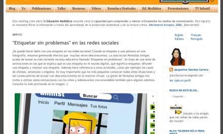 """""""Etiquetar sin problemas"""" en las redes sociales [Telekids]"""