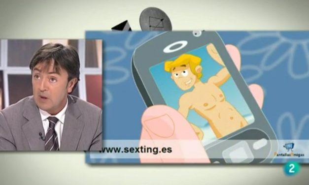 [Vídeo] El sexting como práctica de riesgo. Tertulia Jorge Flores [TVE]